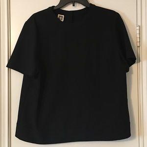 Anne Klein black blouse